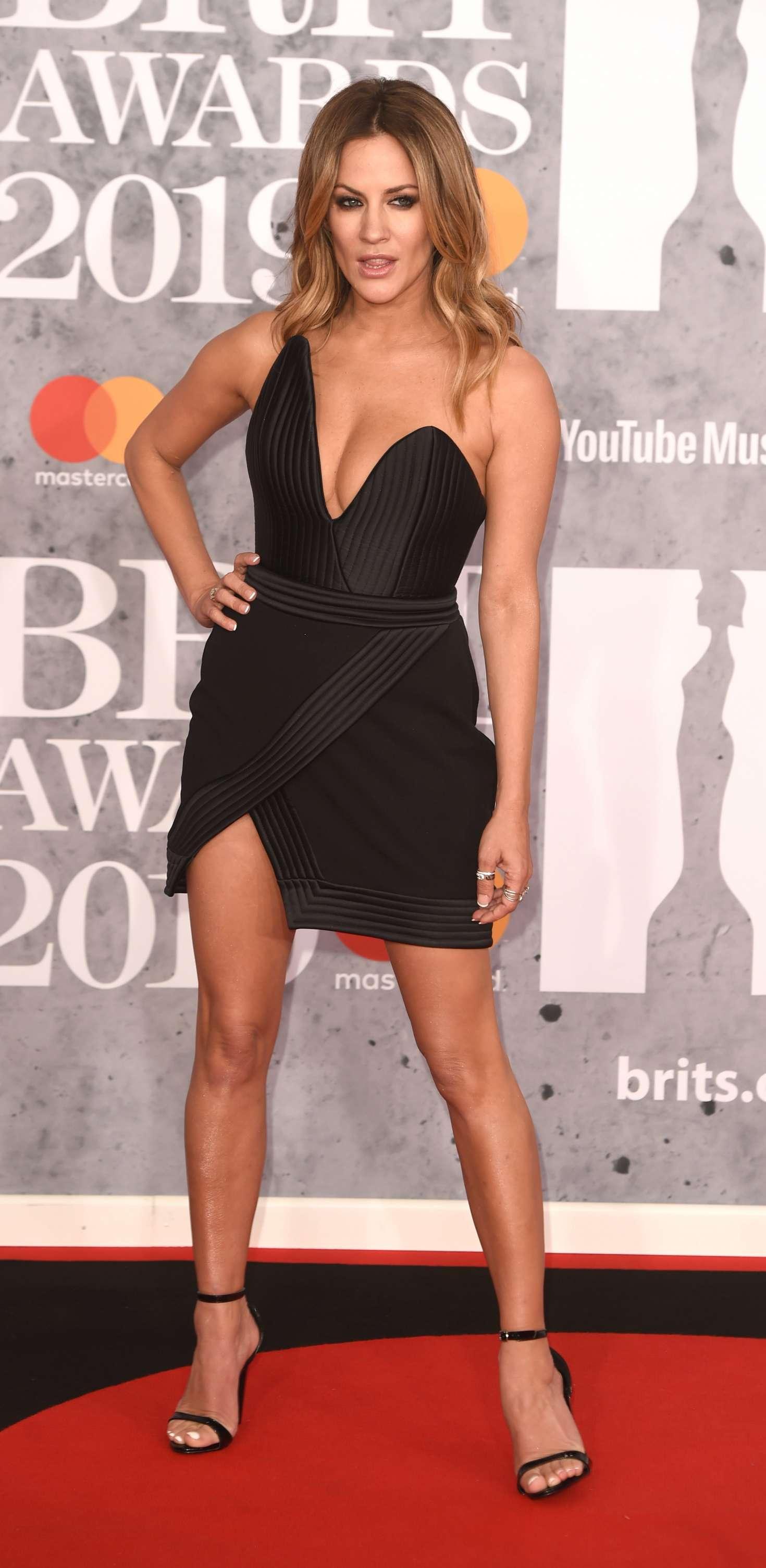 Caroline Flack: 2019 BRIT Awards -01 | GotCeleb