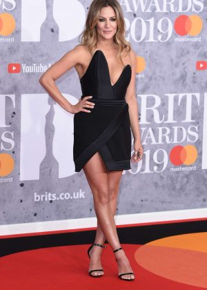 Caroline Flack - 2019 BRIT Awards in London