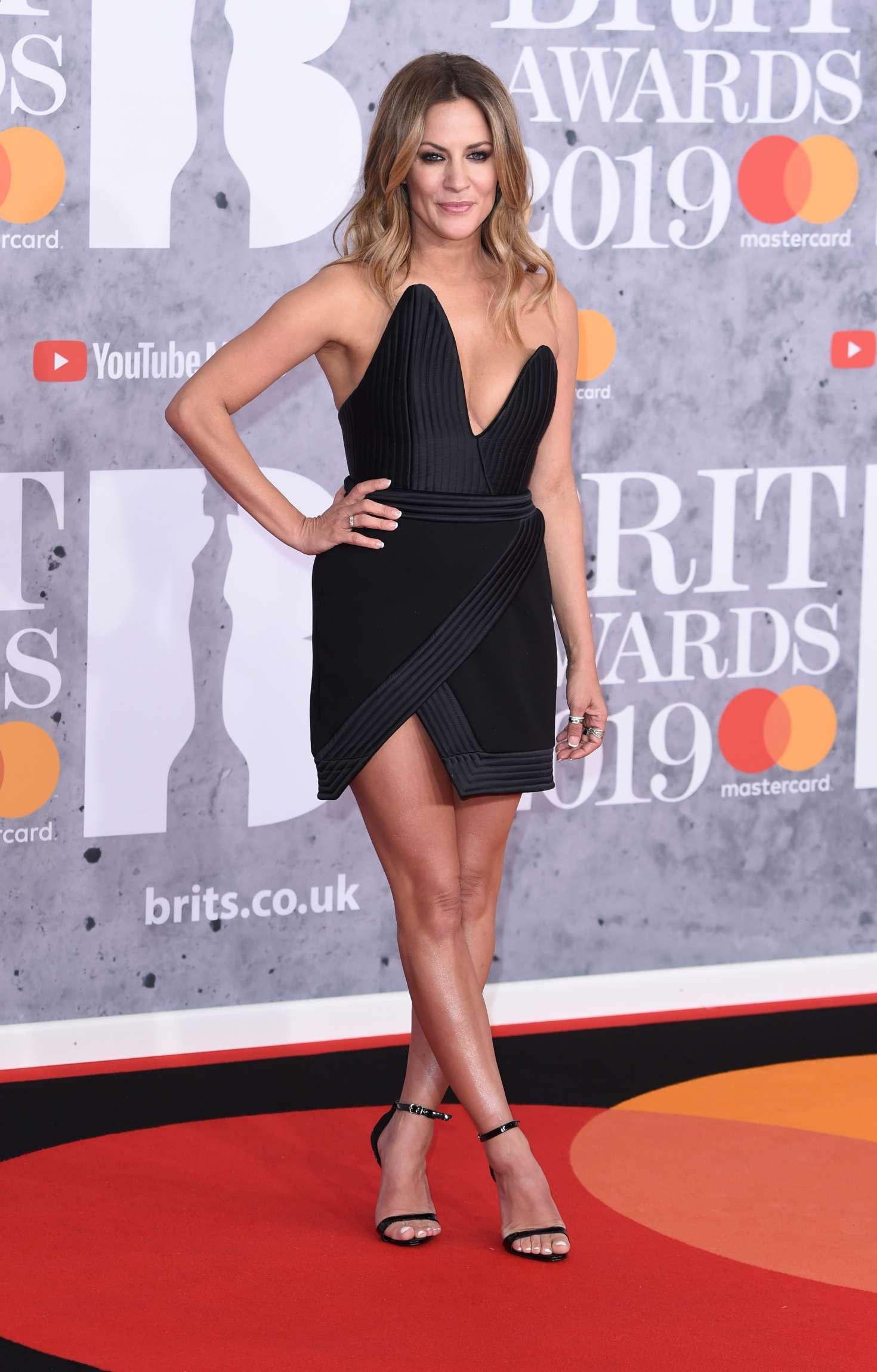 Caroline Flack - 2019 BRIT Awards in London