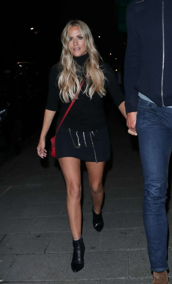 Caroline Flack - Arrives at IVY Restaurant in Soho