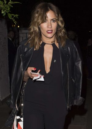 Caroline Flack at Hope and Homes For Children: End The Silence Gala Dinner in London