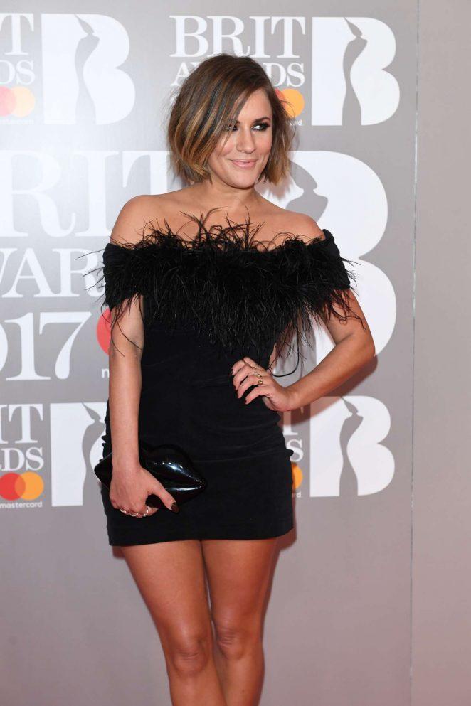 Caroline Flack - BRIT Awards 2017 in London
