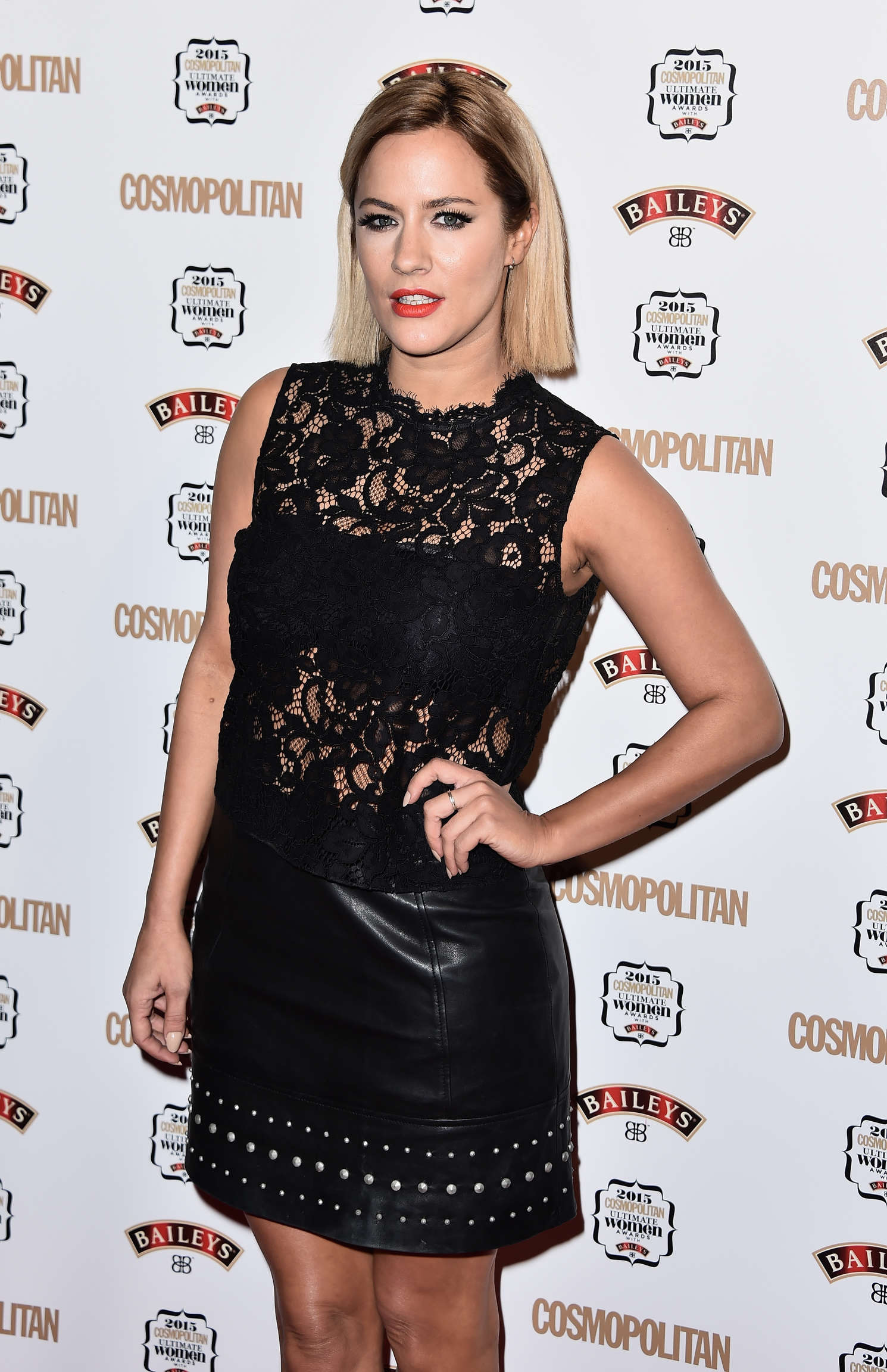 Caroline Flack - Cosmopolitan Ultimate Women Of The Year Awards 2015 in London