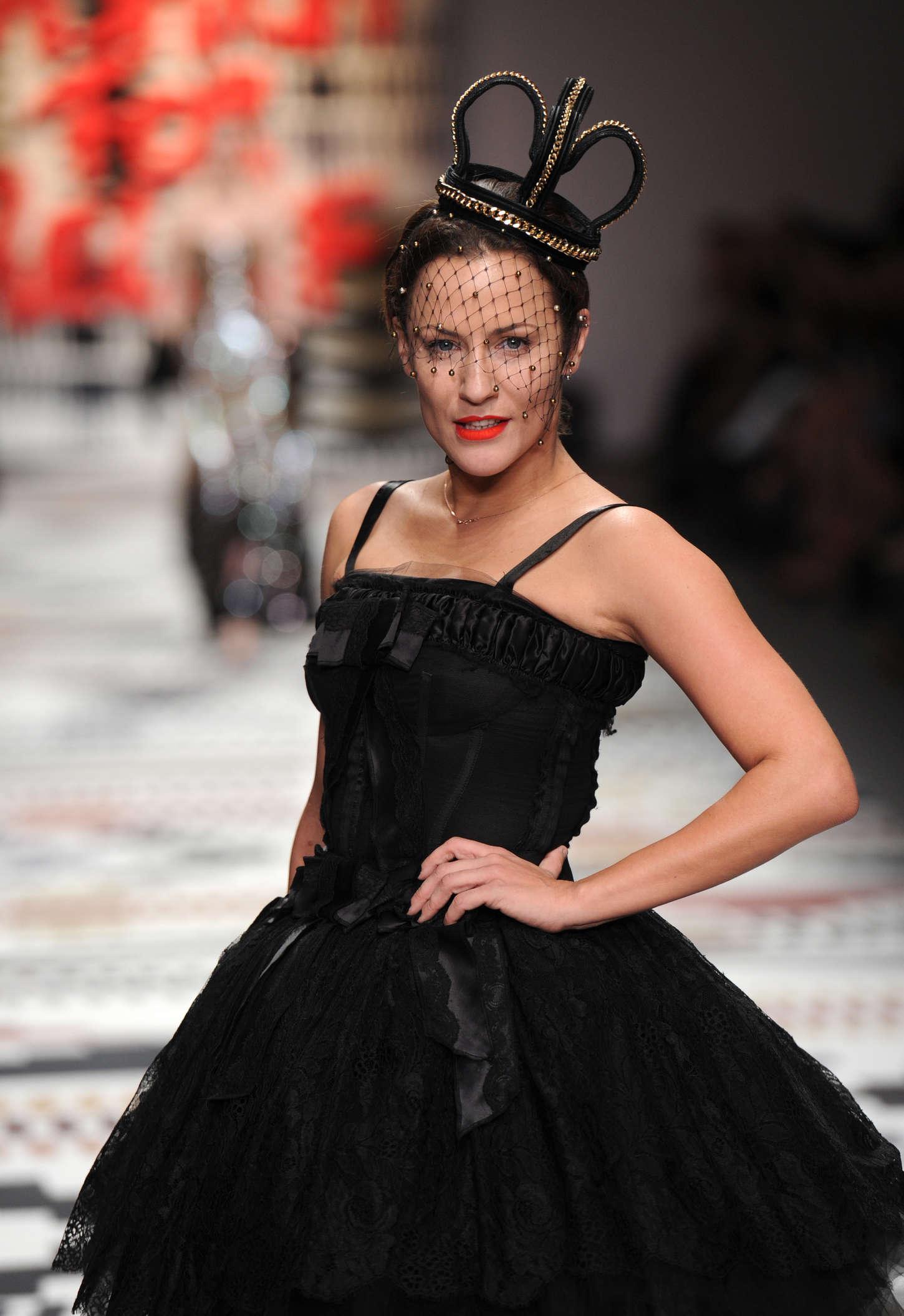 Caroline Flack - Fashion For Relief Charity Fashion Show 2015 in London