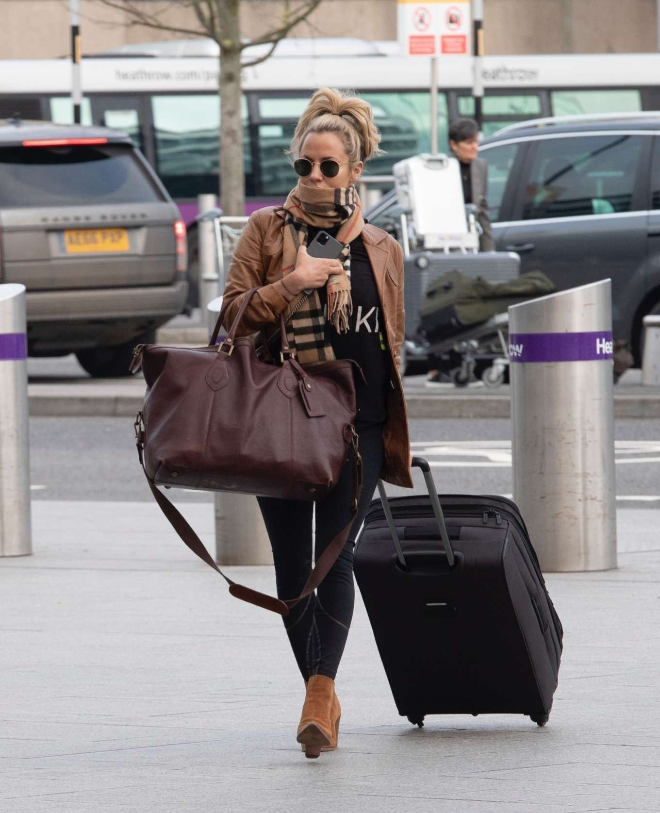 Caroline Flack 2020 : Caroline Flack flees the UK -05