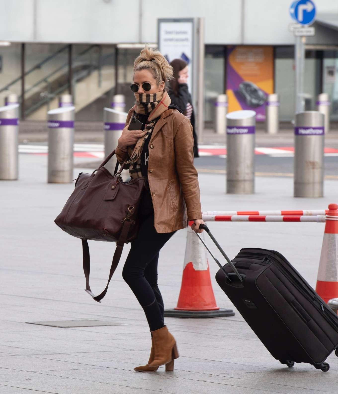 Caroline Flack 2020 : Caroline Flack flees the UK -23