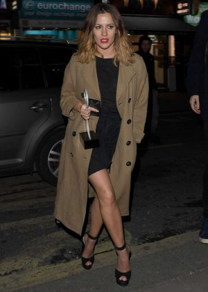 Caroline Flack - Leaving a Kylie Minogue Gig in London