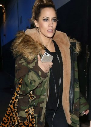Caroline Flack - Leaving Phoenix Theatre After Chicago