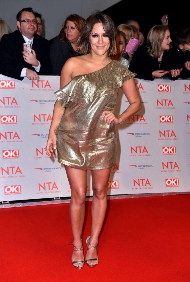Caroline Flack - National Television Awards 2018 in London