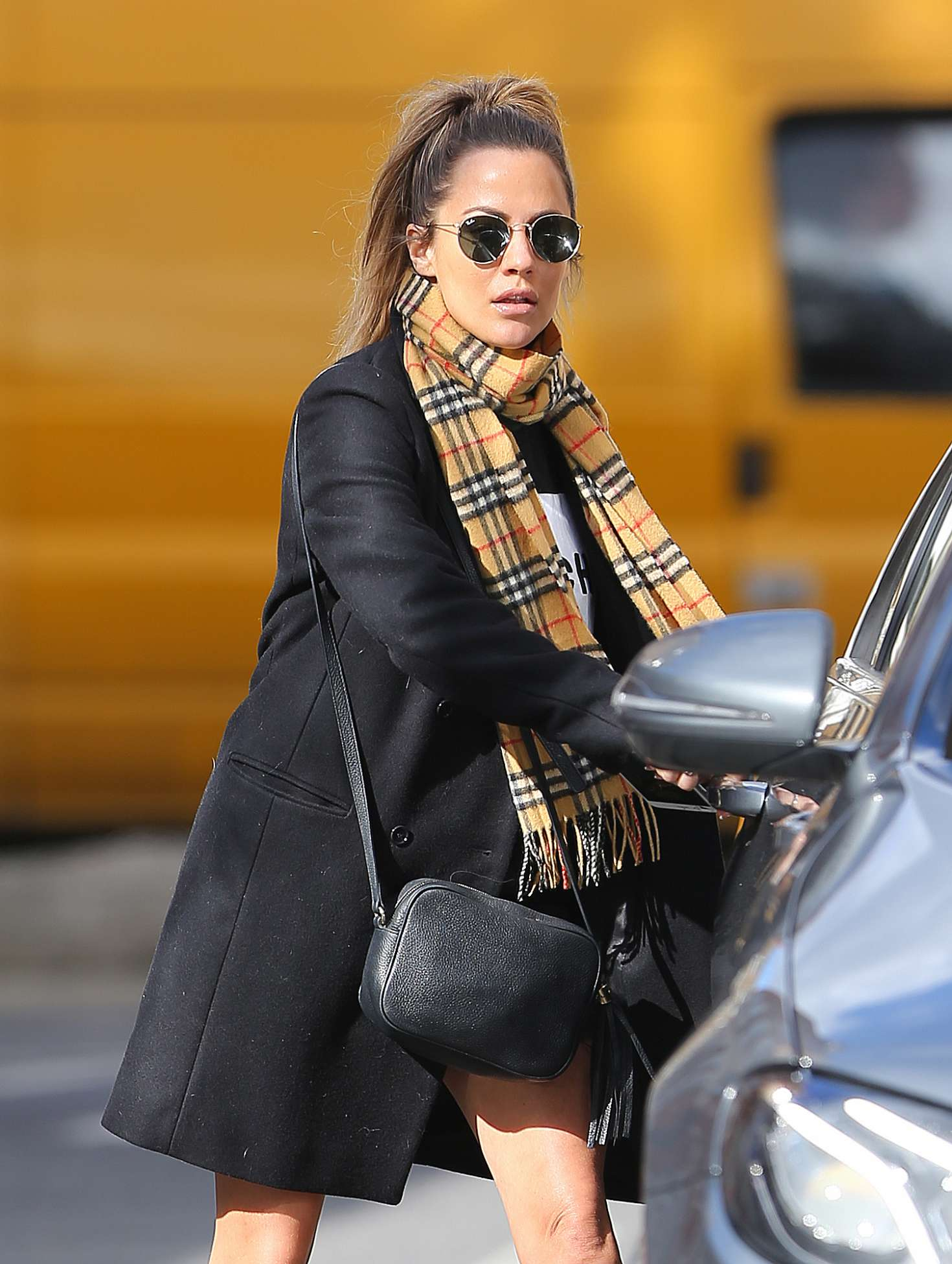 Caroline Flack - Out and about in London