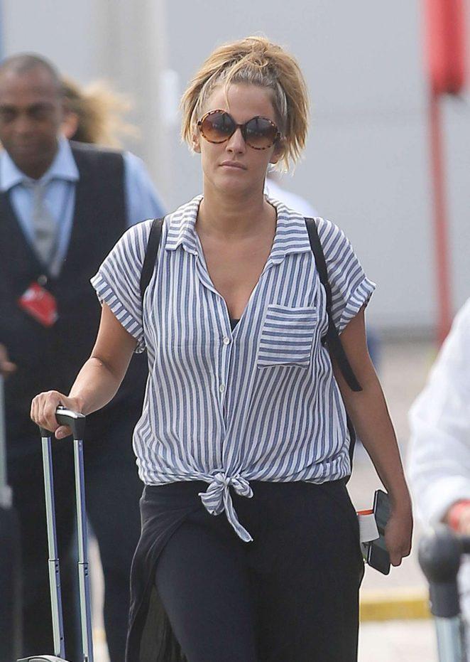 Caroline Flack out in London
