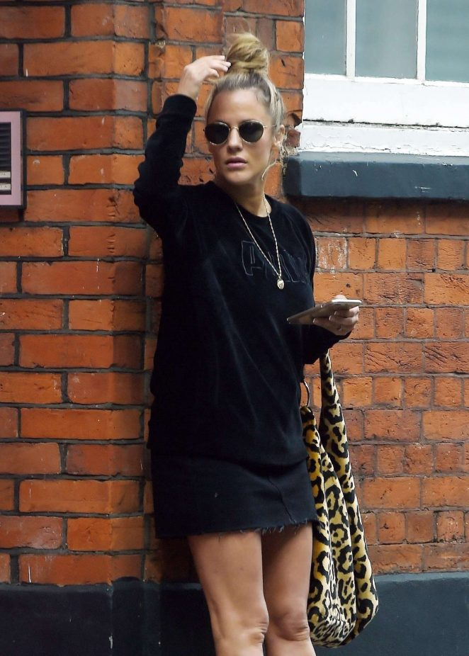 Caroline Flack - Out in London