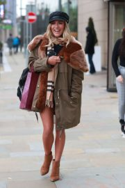 Caroline Flack - Out in Manchester
