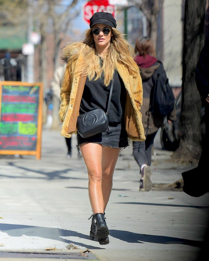 Caroline Flack - Out in NYC