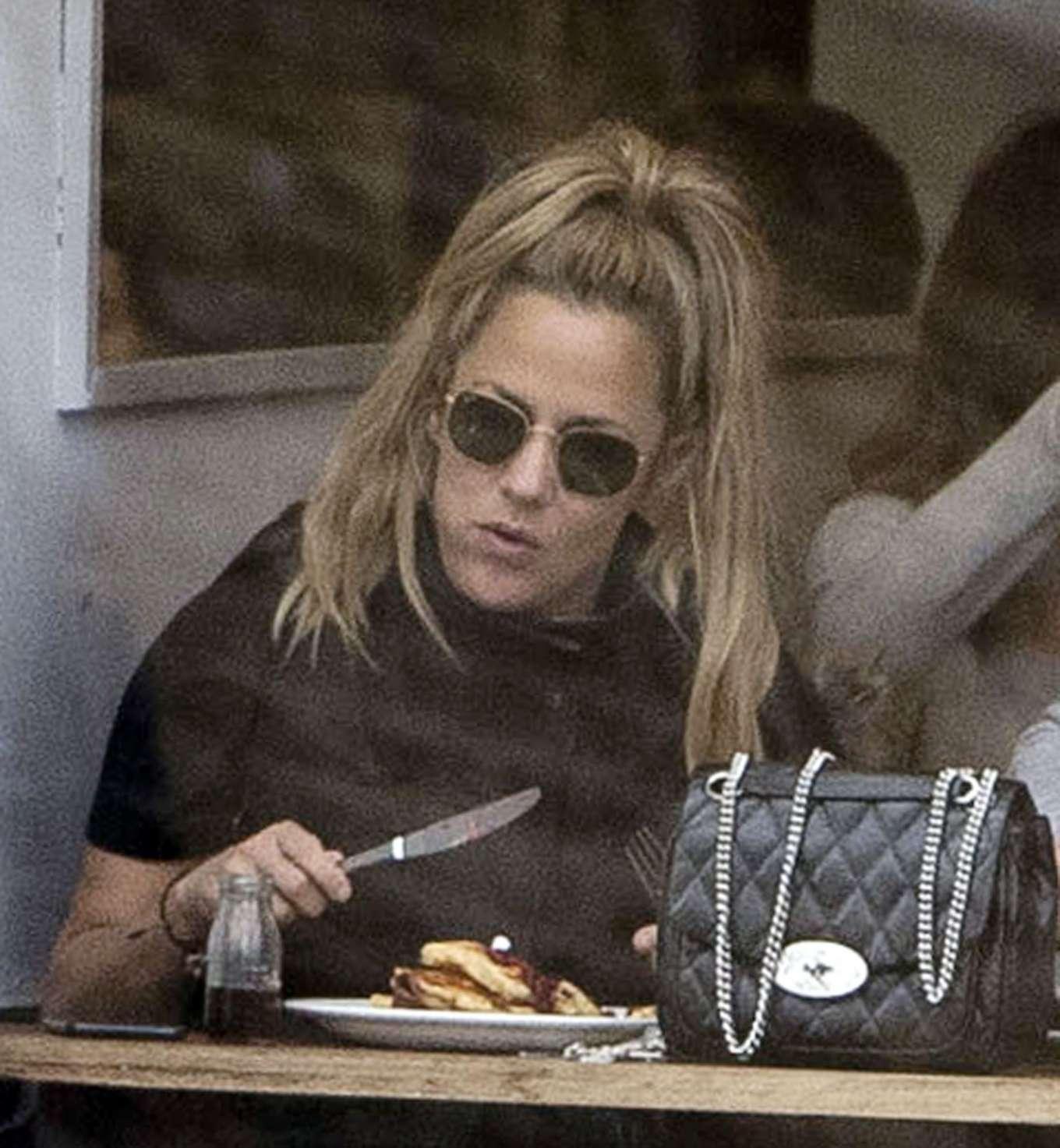 Caroline Flack 2019 : Caroline Flack with her boyfriend Lewis Burton at local cafe in North London-10