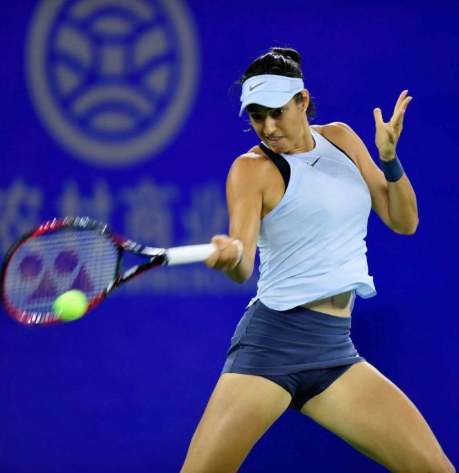 Caroline Garcia – 2017 WTA Wuhan Open