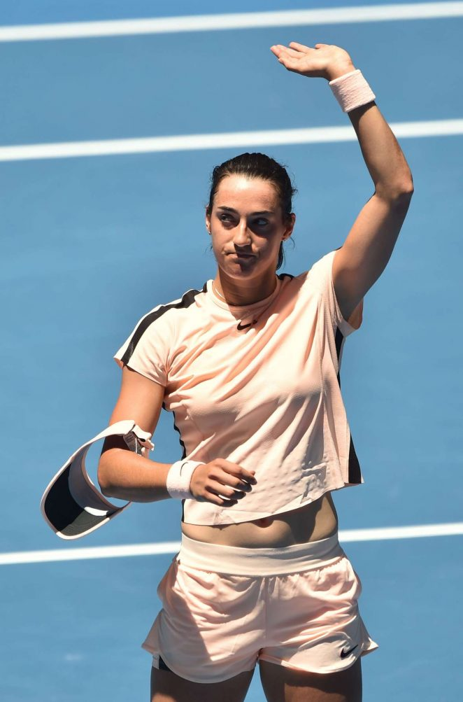 Caroline Garcia - 2018 Australian Open in Melbourne - Day 4