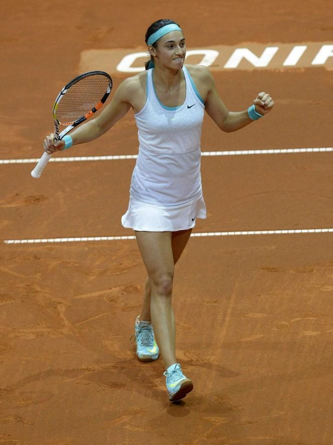 Caroline Garcia - Porsche Tennis Grand Prix in Stuttgart Day2