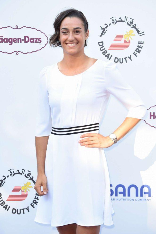Caroline Garcia - WTA Tennis On The Thames Evening Reception in London