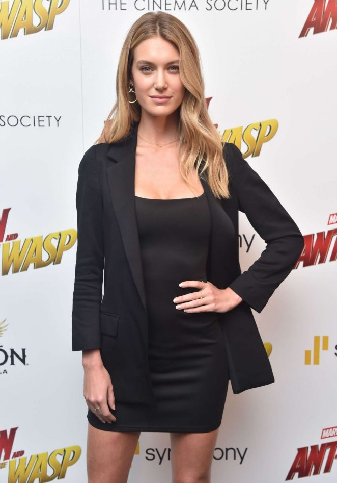 Caroline Lowe - 'Ant-Man and The Wasp' Premiere in New York