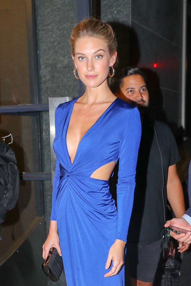 Caroline Lowe - Arrives at Watch What Happens Live! in New York