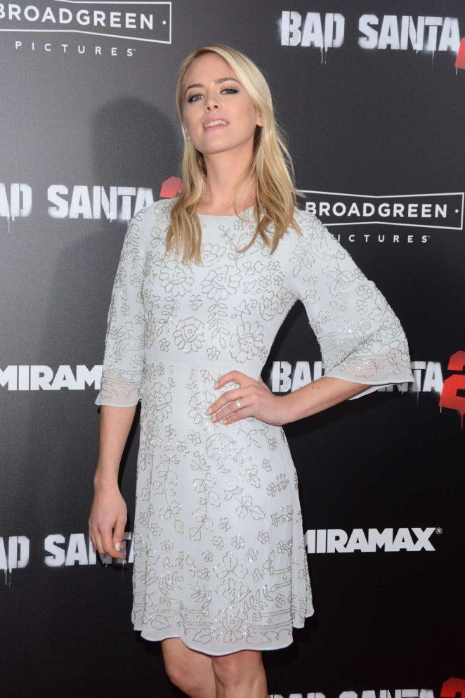 Caroline Lowe - 'Bad Santa 2' Premiere in New York