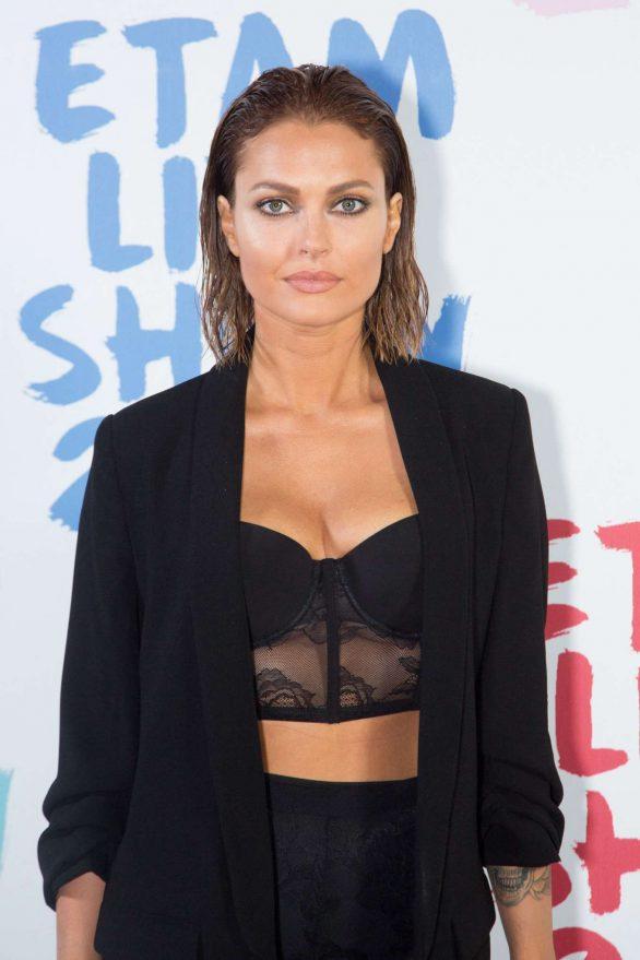 Caroline Receveur - Etam Fashion Show at Paris Fashion Week