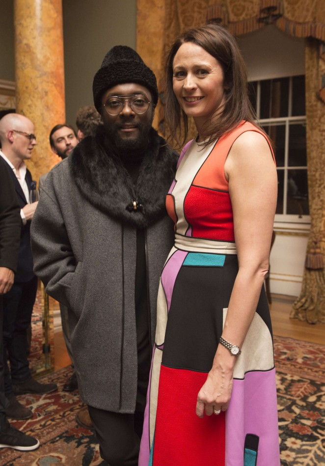 Caroline Rush: London Collections Men AW16 Opening Party -01