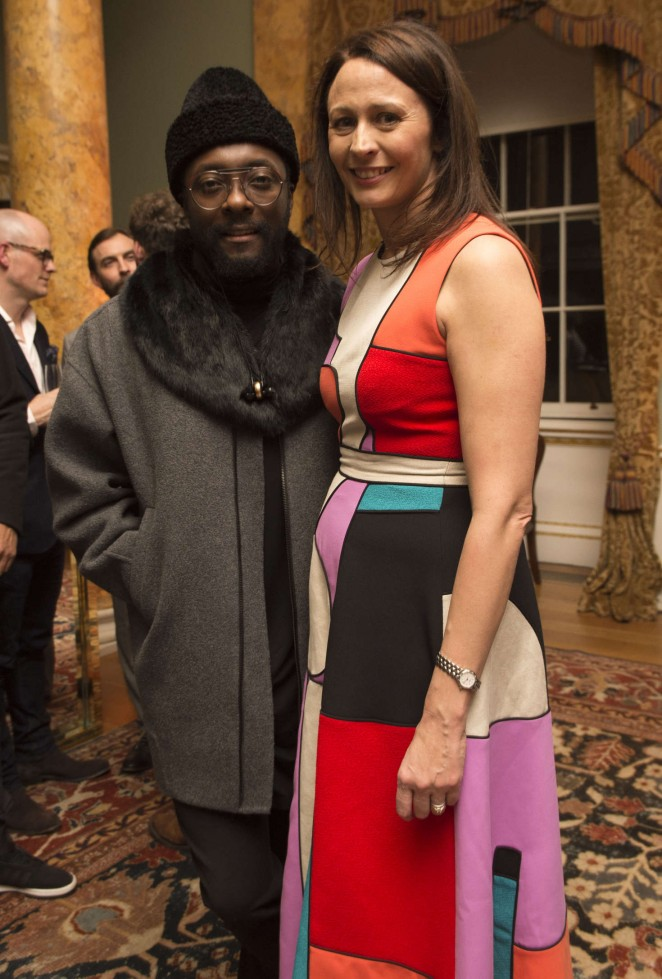 Caroline Rush - London Collections Men AW16 Opening Party