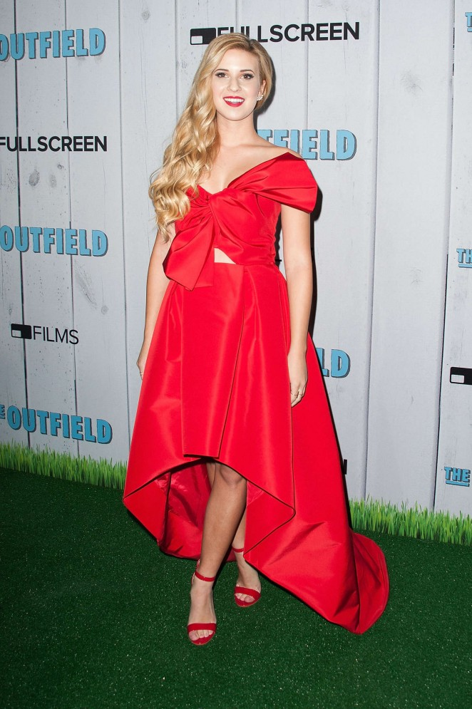 Caroline Sunshine - 'The Outfield' Premiere in Universal City