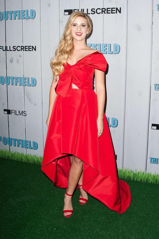 Caroline Sunshine - 'The Outfield' Premiere in Universal City