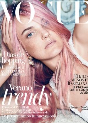 Caroline Trentini: Vogue Spain 2015 -02