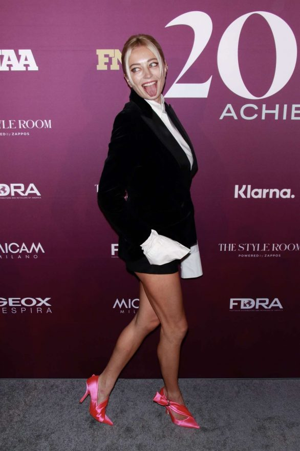 Caroline Vreeland - Footwear News Achievement Awards IAC in New York City