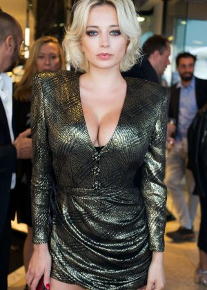 Caroline Vreeland out in Cannes