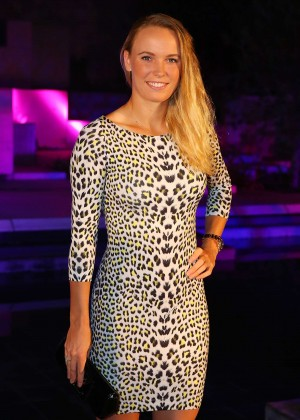Caroline Wozniacki - 2015 China Open Player Party in Beijing