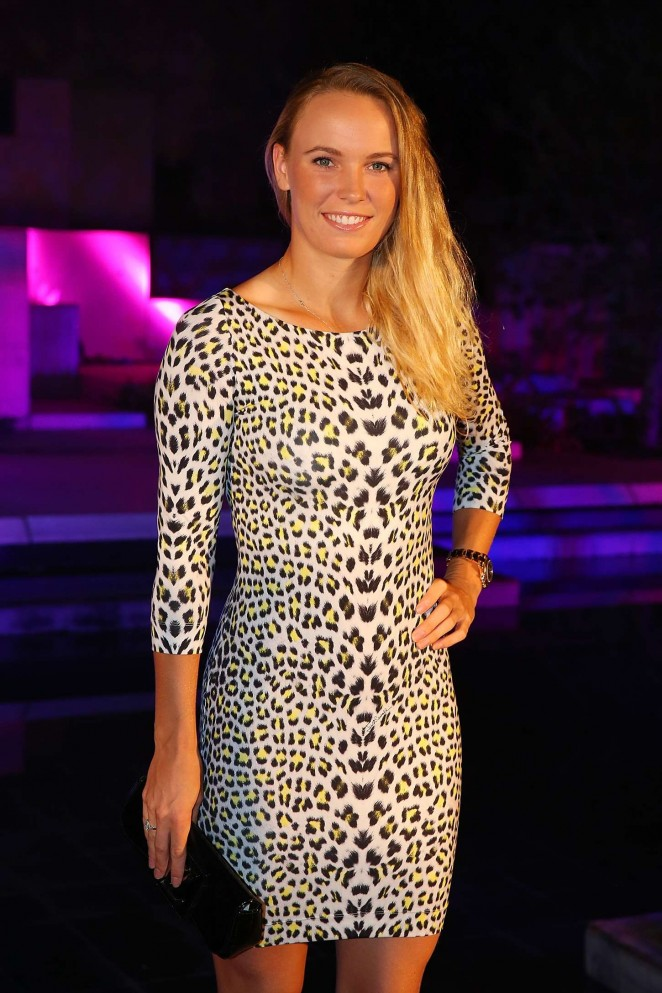 Caroline Wozniacki – 2015 China Open Player Party in Beijing