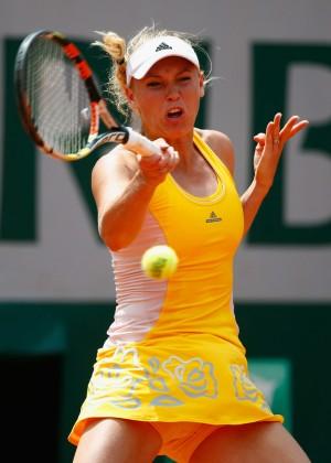 Caroline Wozniacki - 2015 French Open in Paris
