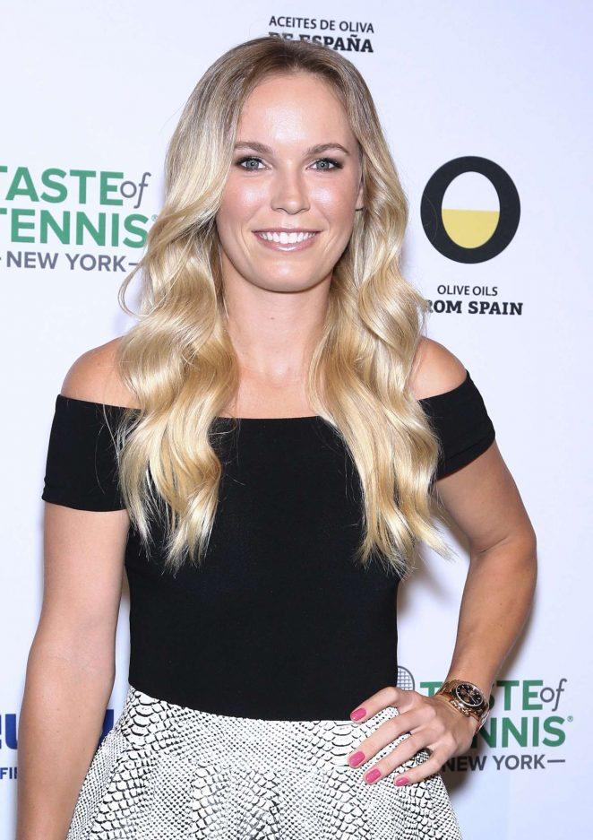 Caroline Wozniacki – 2016 Taste Of Tennis New York City