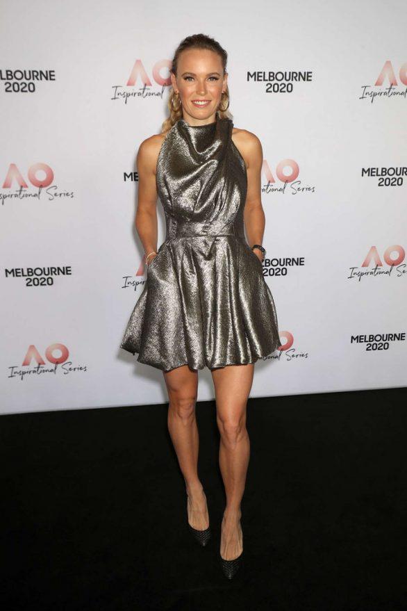 Caroline Wozniacki - AO Inspirational Series Lunch in Melbourne