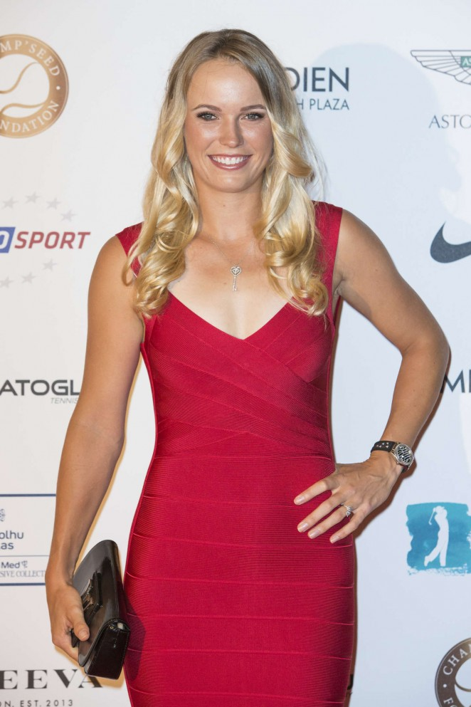 Caroline Wozniacki - Champ'Seed Party 2015 in Monaco
