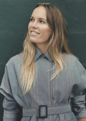 Caroline Wozniacki - Elle Denmark Magazine (January 2019)