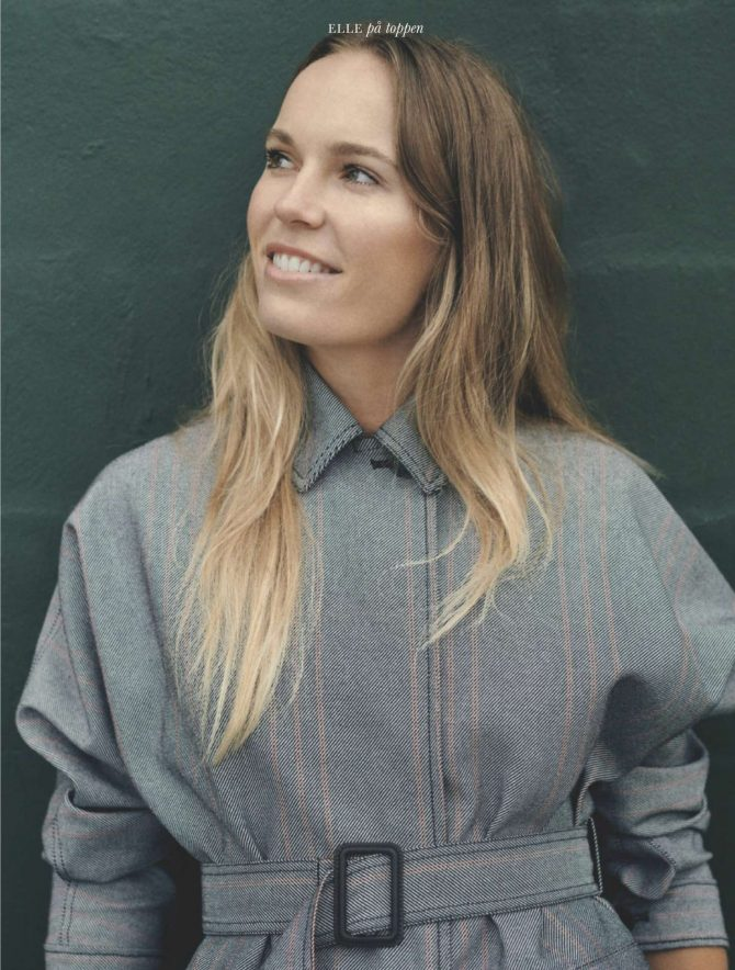 Caroline Wozniacki – Elle Denmark Magazine (January 2019)
