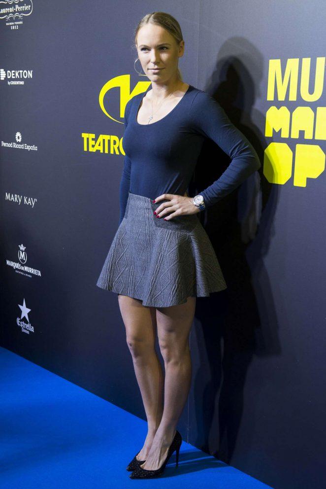 Caroline Wozniacki – Mutua Madrid Open Party at Teatro Kapital in Madrid