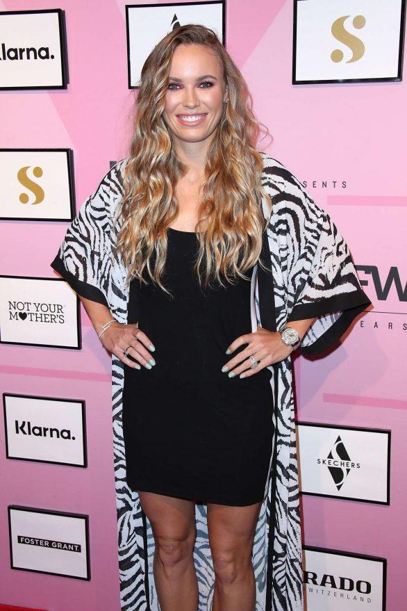 Caroline Wozniacki - S by Serena Fashion Show in New York City