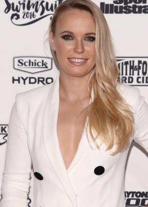 Caroline Wozniacki - Sports Illustrated Celebrates Swimsuit 2016 VIP Red Carpet Event in NY