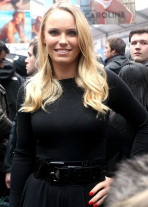 Caroline Wozniacki - Sports Illustrated Swimsuit Event in NYC