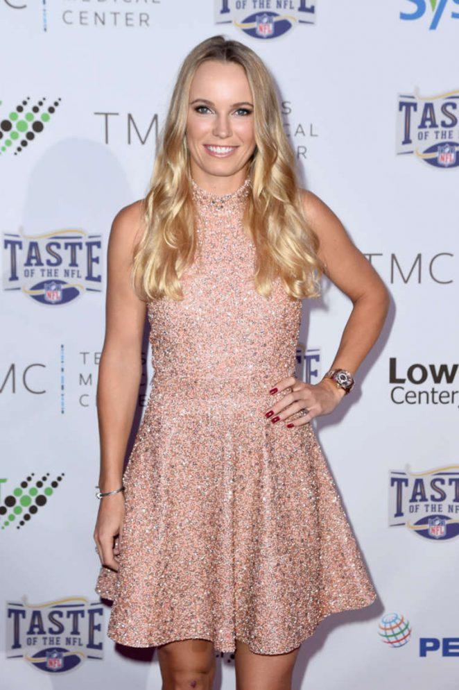 Caroline Wozniacki – Taste Of The NFL 'Party With A Purpose' in Houston