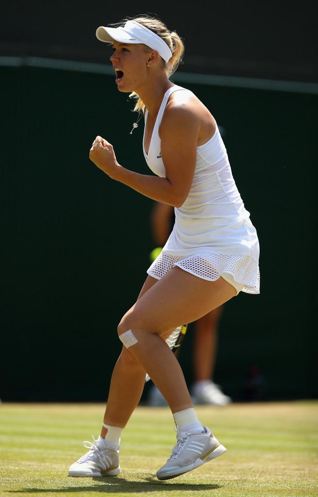 Caroline Wozniacki - Wimbledon Tennis Championships 2015 in London