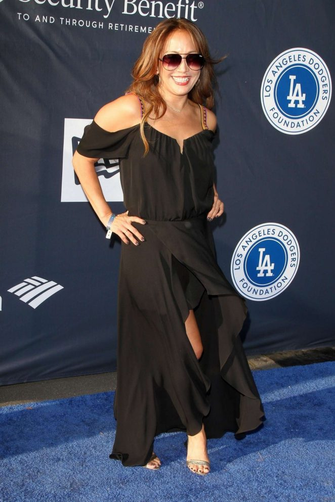 Carrie Ann Inaba - 4th Annual Dodgers Foundation Blue Diamond Gala in LA