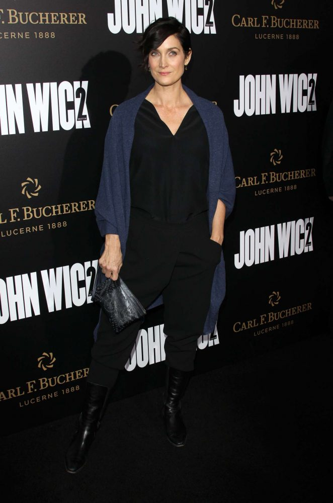 Carrie Ann Moss - 'John Wick Chapter 2' Premiere in Los Angeles
